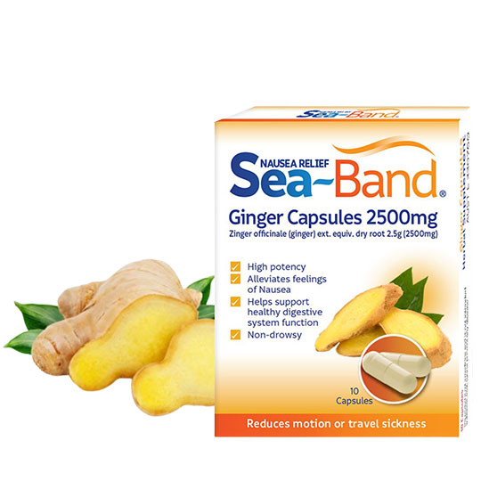 Sea-Band Ginger Anti- Nausea Solution